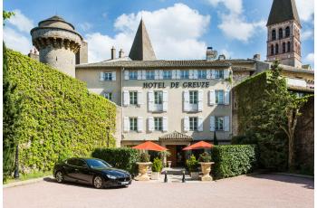 Instant bien-être en Bourgogne à l'hôtel spa de Greuze****