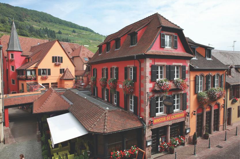 Le Chambard, un écrin d'authenticité au cœur du terroir alsacien